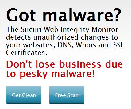 WordPress Training Course malware scan tool