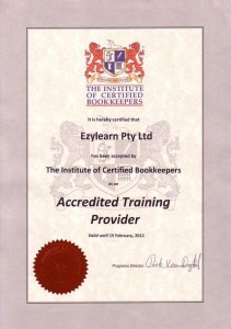 Institute_of_Certified_Bookkeepers Accredited MYOB Training Course