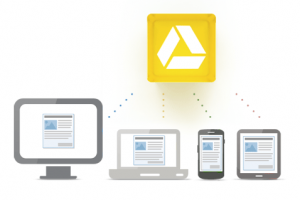 Google Drive and smart devices storage in the cloud