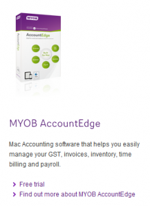 Free MYOB test drive software