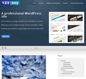 123ezy website design and hosting services for cheap websites