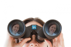 Linkedin hands searching for potential bookkeeping employees