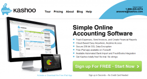 Kashoo Online Bookkeeping Software comparison to MYOB, XERO