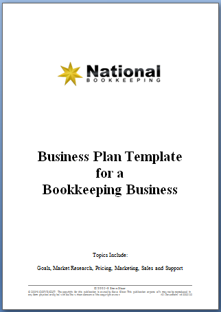 National Bookkeeping Business Plan Template