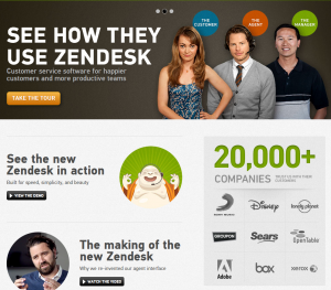 Zendesk customer support for our online MYOB training courses
