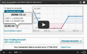 bank feeds in Xero and MYOB for faster bank reconciliation