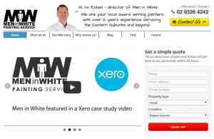 Rohan the painter tradie uses xero