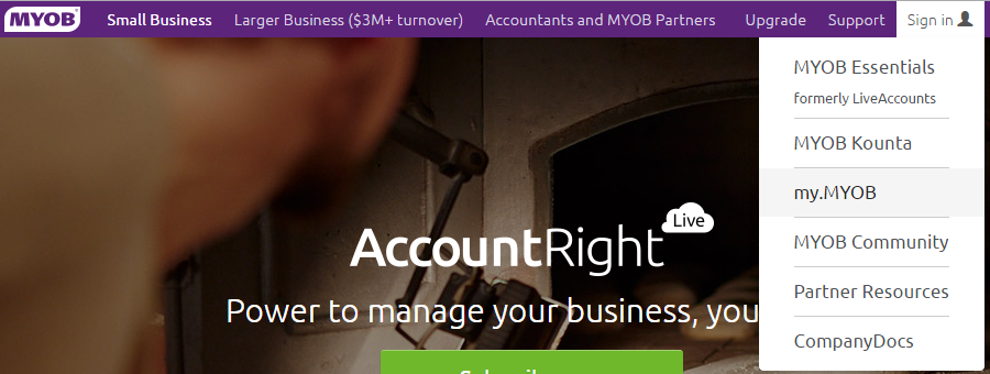 MYOB AccountRight Live Basics - is it really cloud-based accounting software or MYOB and Dropbox 2