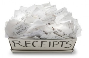 keep receipts for tax deductions this financial year
