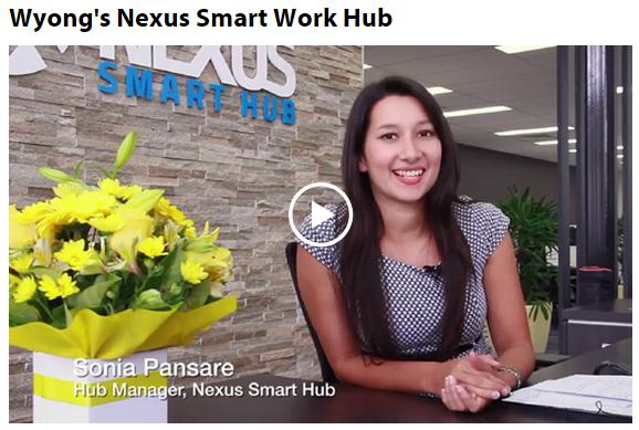 Nexus Smart Hub at Wyong to help people telework or be virtual assistants