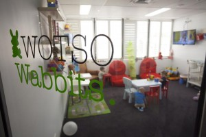 Working mums can run a business from home and use Wotso to have meetins AND childcare by the hour - great news