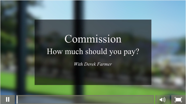 Real Estate Agents Commission - How much should you pay
