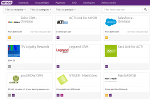 Cloud CRMs that integrate with MYOB AccountRight - online training courses
