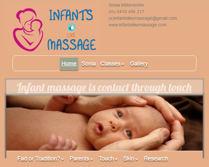 baby-massage-helps-new-parents-bond-with-their-newborn-child-wordpress-training-course