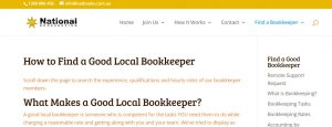 National Bookkeeping Online Directory