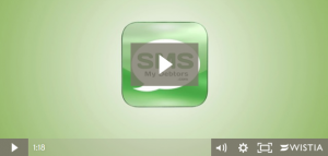 SMS My Debtors Explanation video for sending invoices by SMS from Xero - they use Wistia - check our Social MEdia Course