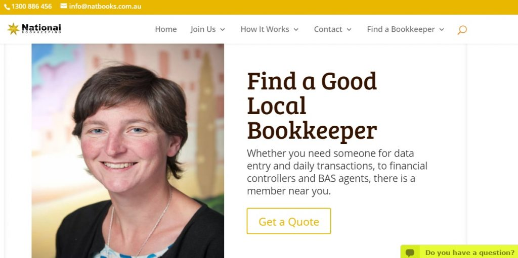 find a local bookkeeper