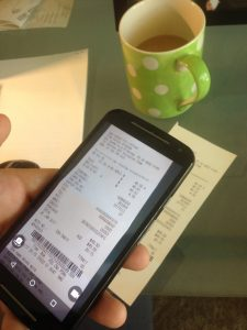 online receipts and billing