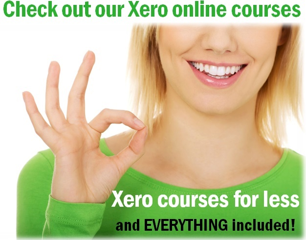 learn online training Xero courses videos for less