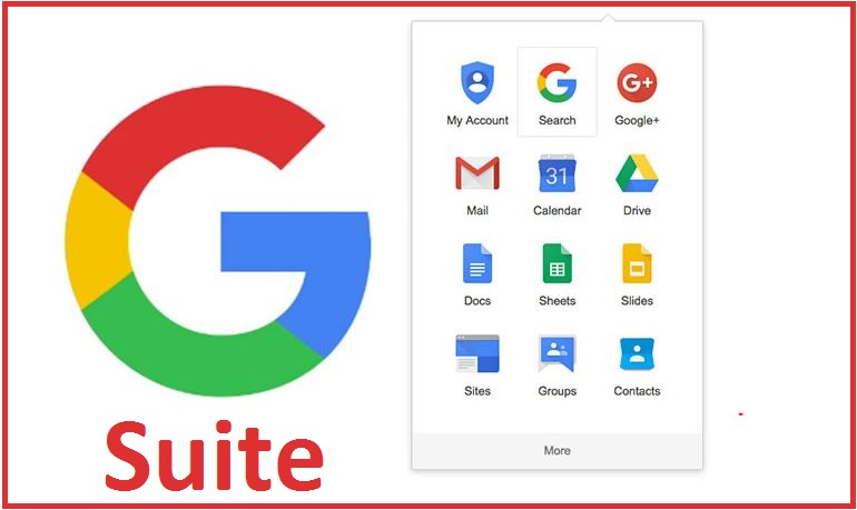 Google G Suite Training Courses - contacts, emails, calendars, appointments