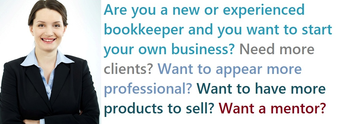 start your own business as a bookkeeper