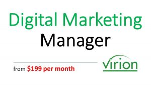 virion Digital Marketing Manager