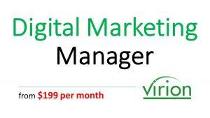 virion Digital Marketing Manager