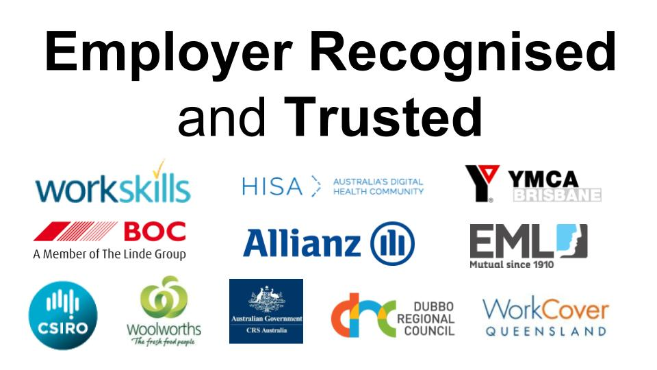 Employer Recognised and Trusted Online Excel, Word, Office, MYOB, Xero, QuickBooks Online Training Courses