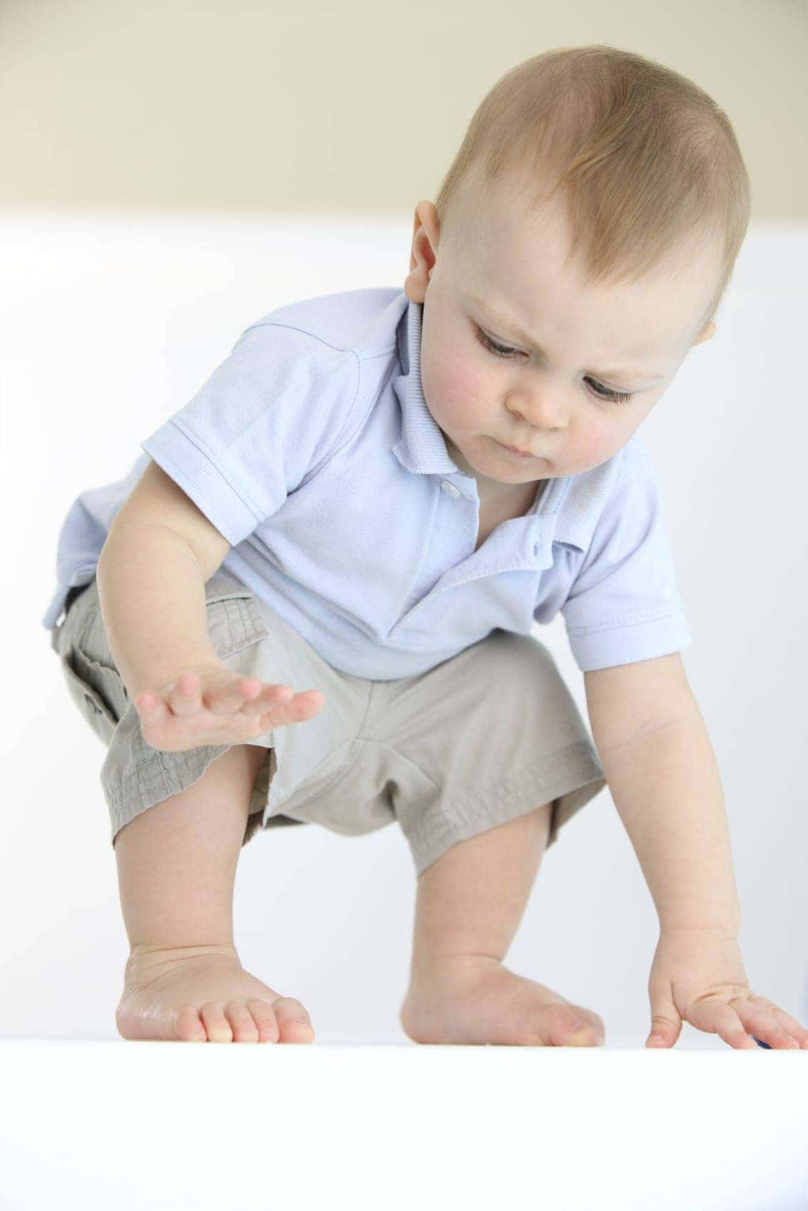 baby learning to stand will your business stand up to an earnings guarantee income guarantee