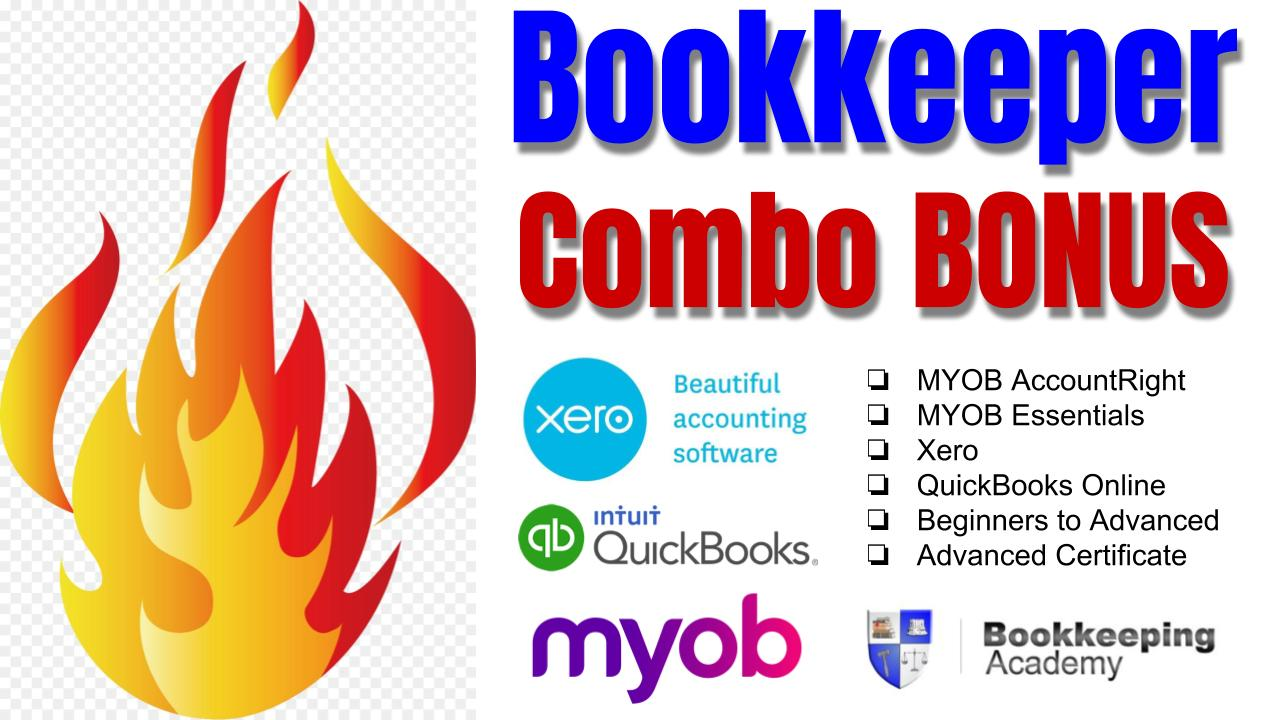 SPECIAL OFFER: MYOB, Xero & QuickBooks Online Courses ALL for One Low Price