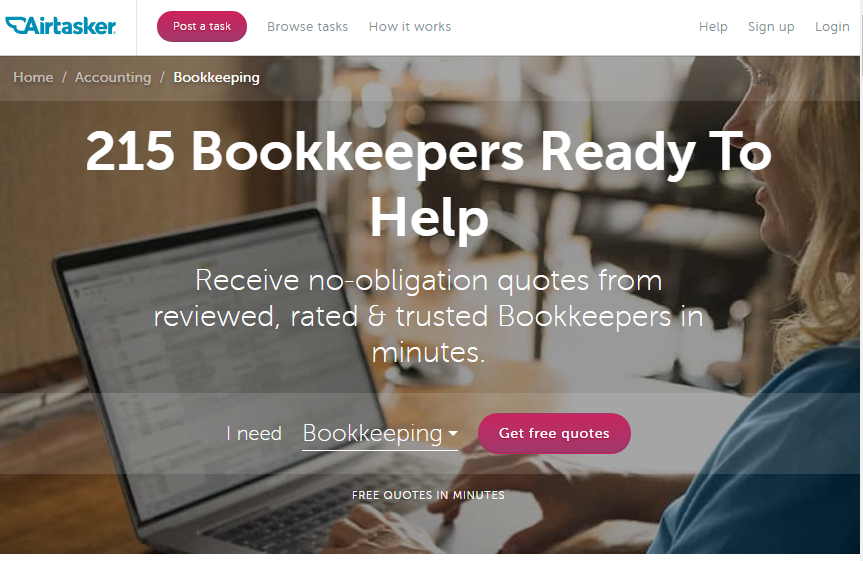 Casual, part-time and contractor bookkeeping and accounting jobs are available on Airtasker - start a bookkeeping business side hustle