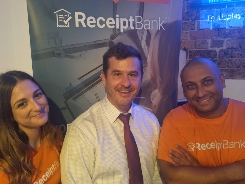 Receipt Scanning, Receipt OCR, number extraction and receipt cloud storage company Receipt Bank integrates with Xero, QuickBooks and MYOB Essentials Training Course session