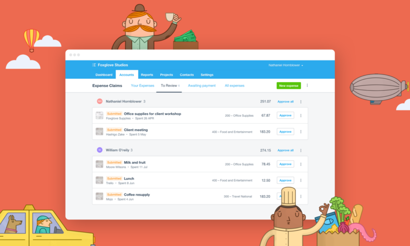 Xero Expenses Management changed after they purchased Hubdoc to compete with Receipt Bank - Xero Beginners Training Course