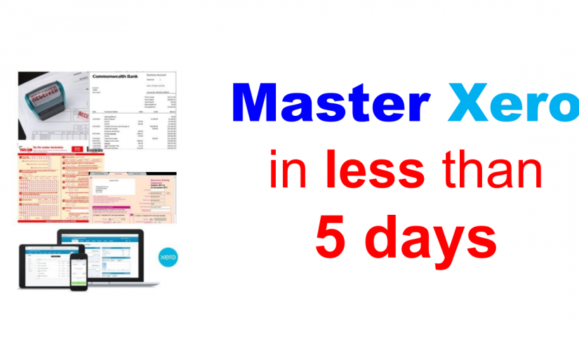Learn Xero in less than 5 days