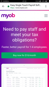 MYOB Essentials Online Training Course for Payroll Administration, STP and Tax, GST obligations
