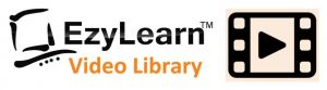 EzyLearn Online Training Courses logo 2 Video Library & Support for MYOB, Xero, MS Office courses, QuickBooks