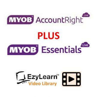MYOB Accountright & MYOB Essentials online training course video library logo 2