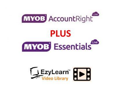 MYOB Accountright & MYOB Essentials online training course video library logo 2