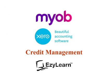 MYOB & Xero Credit Management (data entry, accounts payable, accounts receivable) training courses