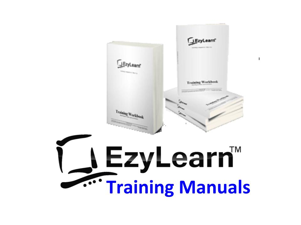 EzyLearn Online Course Training Manuals and Workbooks for MYOB, Xero, Excel, Office, Word, QuickBooks Online