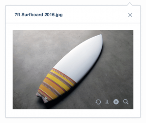 Xero Training Courses features-inventory-surfboard-photo from Xero website