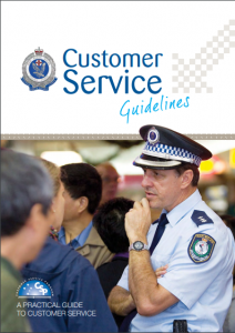 Customer Service Training Course Guidelines from NSW Police - group interviews with Hoban Recruitment