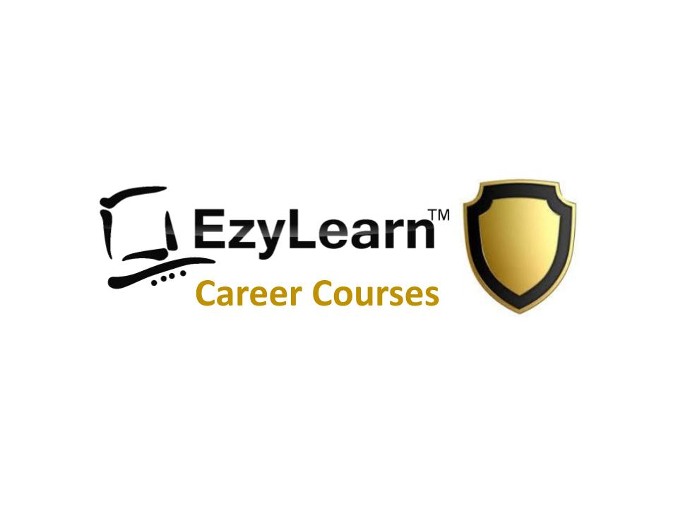 EzyLearn Career Academy Ongoing Course Access for Accounting, Payroll and Office Admin Training