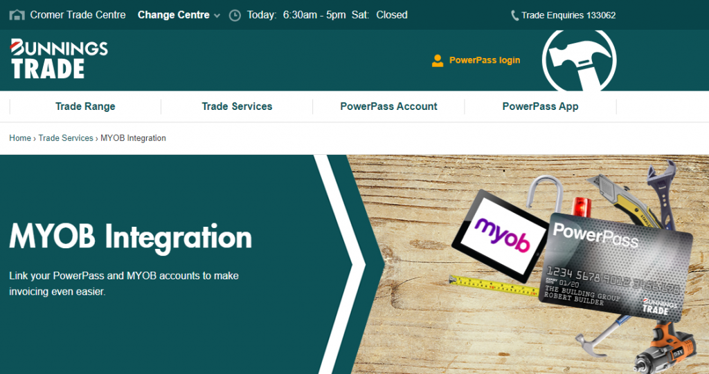 Bunnings-forge-partnership-with-Bunnings-for-Smart-Receipts-for-PowerPass-members-MYOB-AccountRight-and-Essentials-Online-Training-Courses-EzyLearn