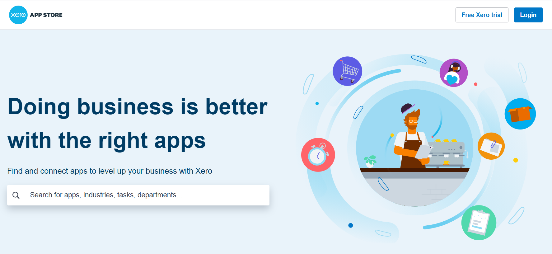 Xero Marketplace for integrated apps - Beginners to Advanced Certificate short online training courses in Xero - EzyLearn